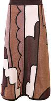 Roksanda patchwork a-line skirt
