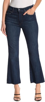 Joe's Jeans High Rise Raw Crop Bootcut Jeans