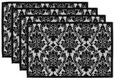 Damask Placemats - Set of 4