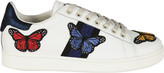 Moa Master Of Arts Embroidered Butterfly Sneakers
