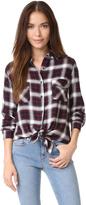 BB Dakota Hardwood Garment Washed Plaid Shirt