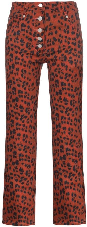 Miaou Junior leopard print trousers