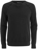 Blk Dnm Raglan Sweatshirt Black