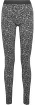 Wolford Cluster Jacquard Leggings - Dark gray