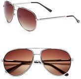 Vince Camuto 63mm Aviator Sunglasses