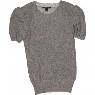 Louis Vuitton Grey Cashmere Top for Women