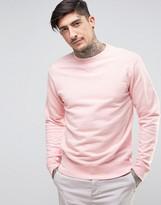 Edwin Classic Crew Sweater Pink