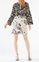 BCBGMAXAZRIA Taylor Paisley Print Tunic Dress