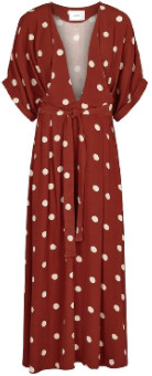 Just Female Red Polka Dots Caia Dress - xs