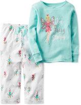 Carter's 2-Pc. I'm Fairy Sleepy Pajama Set, Baby Girls'