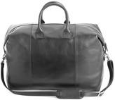 Royce New York Leather Weekender Bag