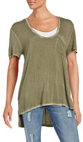 Free People Rising Sun Scoopneck Short Sleeve Tee