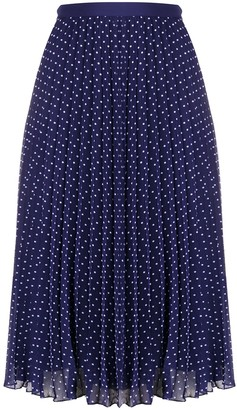 Philosophy di Lorenzo Serafini Polka-Dot Pleated Skirt