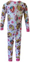 AME Sleepwear Disney Princess Cotton Toddler One Piece Pajamas for girls