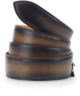 Corthay Old Black Leather Belt