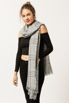 Azalea Checkered Plaid Scarf