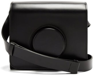 Lemaire Leather Cross-body Camera Bag - Black