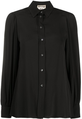 Semi-Couture Buttoned Up Long-Sleeved Shirt