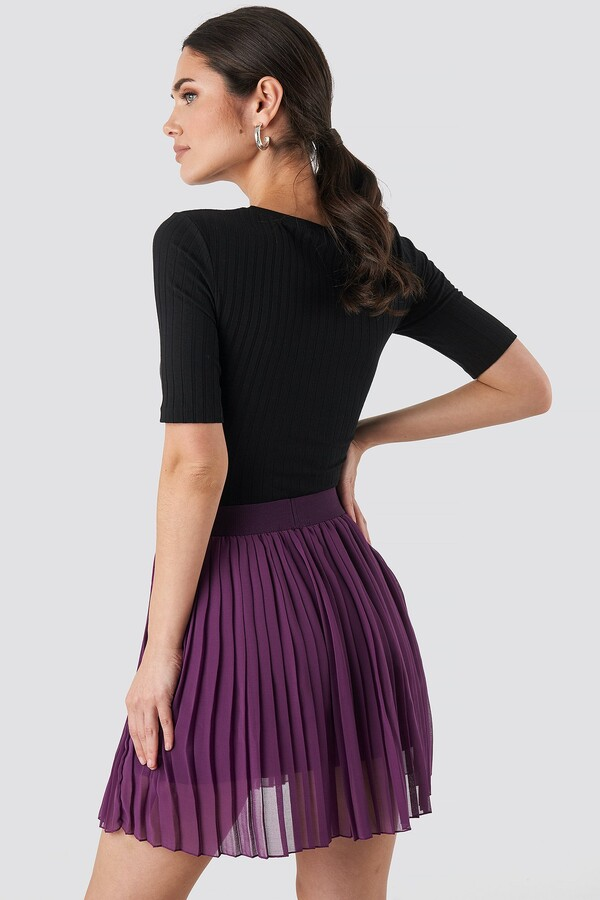 Thumbnail for your product : NA-KD Mini Pleated Skirt