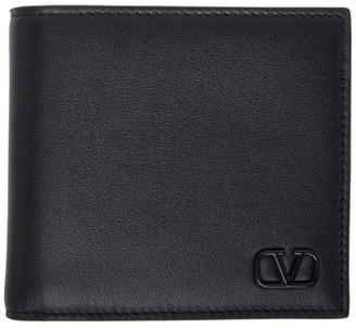 Valentino Black Garavani VLogo Wallet