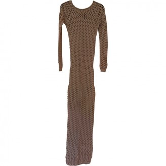 Balmain Beige Cotton Dress for Women