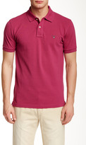 Gant Solid Fitted Pique Rugger Polo