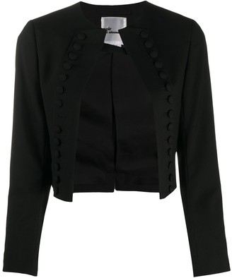 Comme des Garcons Open Front Fitted Jacket