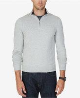 Nautica Men's Big & Tall Quarter-Zip Sweater