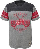 Reebok Boys 8-20 Detroit Red Wings Lineage Tee