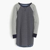 J.Crew Knit nightshirt in mixed stripe