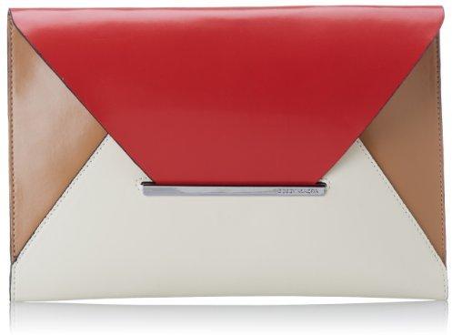 BCBGMAXAZRIA Harlow Colorblock Envelope Clutch