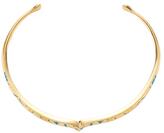 Aurelie Bidermann Apache Embossed Collar Necklace