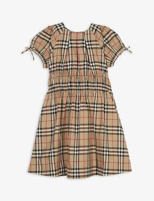 Burberry Joyce checked cotton dress 3-14 years