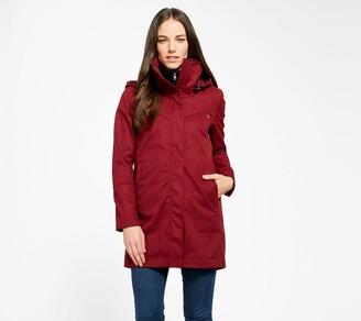 Mia Melon Fleece-Lined Waterproof Cotton Jacket- Stella