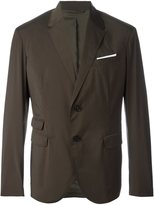 Neil Barrett two button blazer - men - Polyester/Spandex/Elastane/Viscose - 50