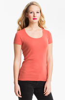 Caslon Short Sleeve Scoop Neck Tee