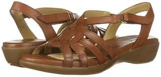 Naturalizer Nalani (White Leather) Women's Sandals