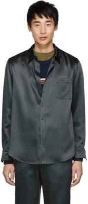 Sies Marjan Navy Satin Sander Shirt