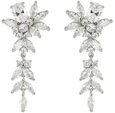 Nina Zhane Beautiful Dangling Earrings with Floral Motif Earring