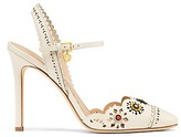 Tory Burch Marguerite Perforated Slingback Sandals