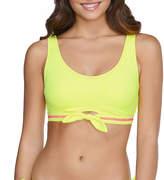 Arizona Ribbed Bralette Swimsuit Top Juniors