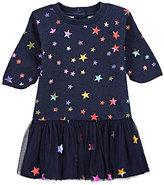 Stella McCartney Star-Print Dress & Bloomers Set-NAVY
