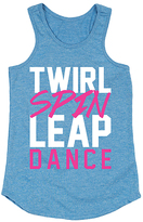 Carolina Blue 'Twirl Spin Leap Dance' Racerback Tank - Toddler