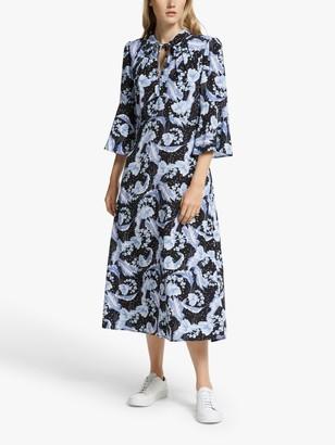 Somerset by Alice Temperley Dahlia Midi Dress, Blue