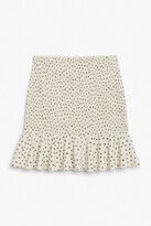 Thumbnail for your product : Monki Shirred mini skirt