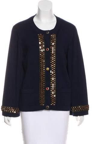Chanel Paris-Byzance Cashmere Cardigan