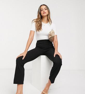 Vero Moda Tall kick flare leggings with high waist in black