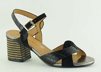 The Divine Factory Women's Lore Ankle Strap Sandals