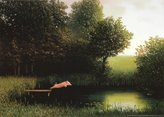 Poster Revolution Michael Sowa Diving Pig Kohler's Schwein Art Print Poster - 20x28
