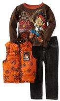Disney Boys 2-7 Three Piece Jake Vest Set